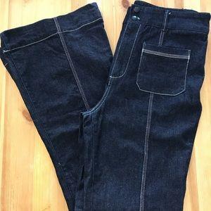 Pilcro + the Letterpress High Waist Flare Jeans B0